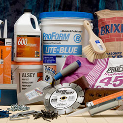 Drywall, EIFS, plaster, and masonry tools and accessories in stock